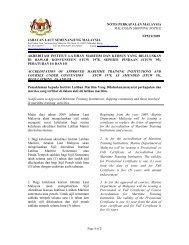 NPM7/2009 - Jabatan Laut Malaysia
