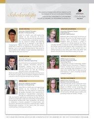 2013 Scholarship Winners - Canadian Parking Association
