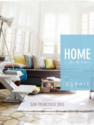 SAN FRANCISCO 2015 - Esprit home