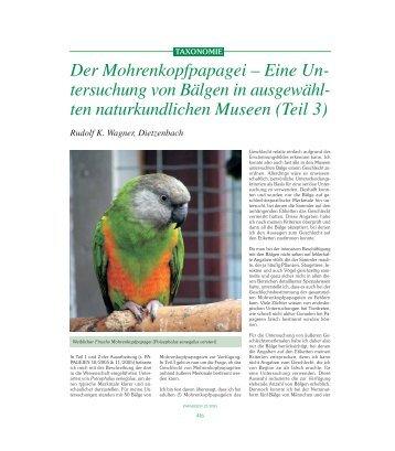 ten naturkundlichen Museen (Teil 3)