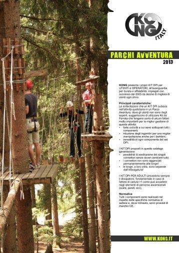 Scarica il PDF DPI Parchi Avventura - Kong