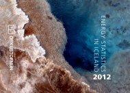 Energy Statistics 2012 - Orkustofnun