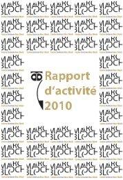 le rapport d'activité - Centre Marc Bloch - Humboldt-Universität zu ...