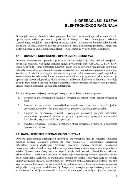 Povezivanje upravljačkih programa