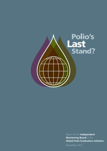 Report - Global Polio Eradication Initiative