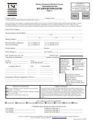 Purchasing Supplier Application Form (.pdf) - USC - University of ...