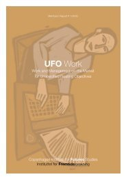 UFO - Instituttet for Fremtidsforskning