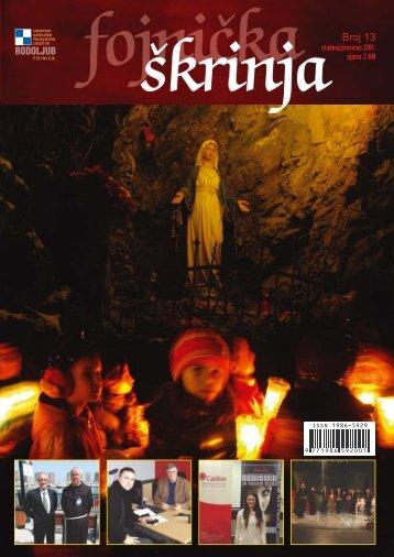 Fojnička škrinja broj 13 - Samostan Fojnica