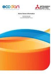 Ecodan homeowner manual.pdf - RM Barnett renewable energy ...