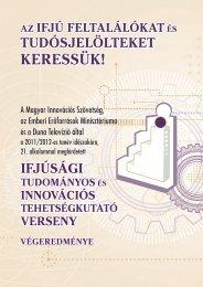 Végeredmény (PDF, 1,1 MB) - Magyar Innovációs Szövetség