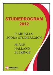 Studier 2012 - IF Metall