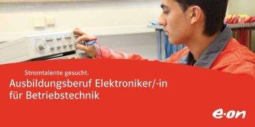 in für Betriebstechnik - E.ON-Kraftwerk Wilhelmshaven
