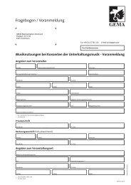 Fragebogen Voranmeldung