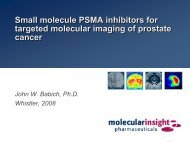 Small molecule PSMA inhibitors for targeted molecular imaging of ...