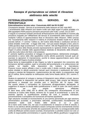 DOSSIER RILEVATORI VELOCITA'.pdf - Infocds.it