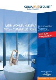 MEIN WOHLFÜHLKLIMA MITSGG CLIMAPLUS® ONE - WMA Glass