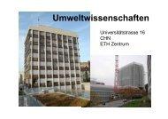 D-UWIS - ITEK - ETH Zürich