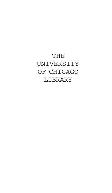 Verso L'Erta - The University of Chicago Library