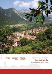 Notiziario 34 - Comune di Tenno