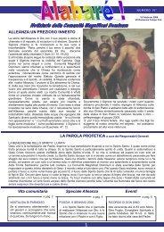 On-line il nuovo numero della Rivista Alabarè - magnificat dominum