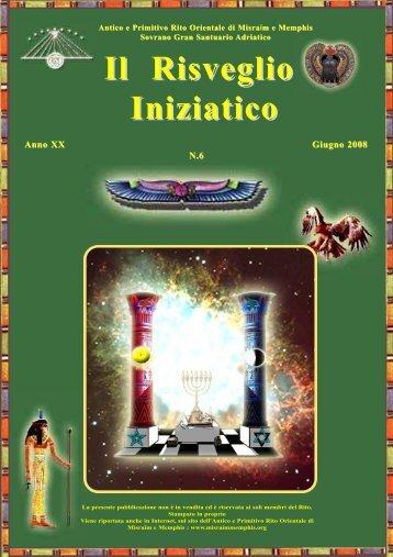 IL RISVEGLIO INIZIATICO - giugno 2008 - Antico e Primitivo Rito ...