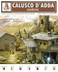 Numero 2 - Dicembre 2012 - Comune di Calusco d'Adda