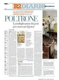 12 maggio 2011 - La Repubblica