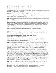 Cronologia storica di fatti accaduti o riguardanti ... - I siti personali