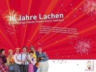 10 Jahre Lachen Die Hamburger Klinik-Clowns feiern Jubiläum