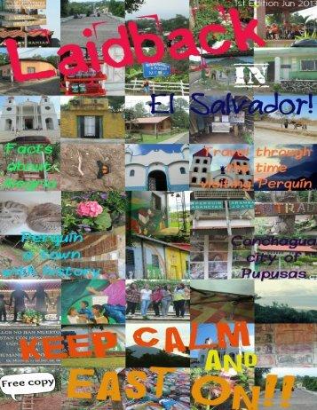 Laidback in El Salvador ...