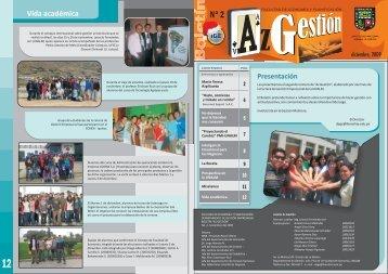 Boletín No. 2 Diciembre 2009 - Universidad Nacional Agraria La ...