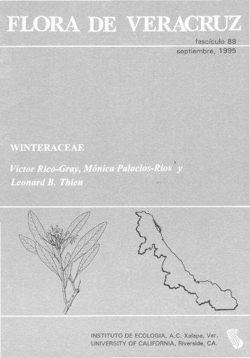 Winteraceae - Inecol