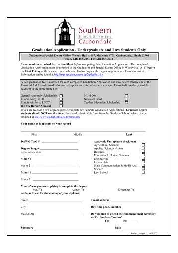 Dubai Graduation Application Form (Undergraduate Students