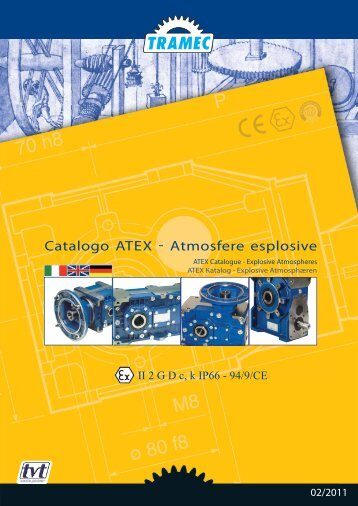 Catalogo ATEX cat.2 - Tramec Srl