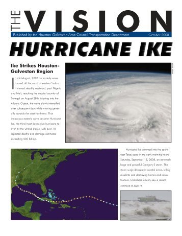 Hurricane Ike - Houston-Galveston Area Council