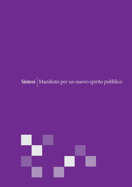 sintesi del Manifesto - Daniela Lastri