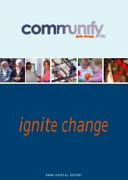2009 ANNUAL REPORT - Communify