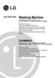 Lavadora Washing Machine - LG Electronics