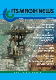 Stromfluss-Analysator - ITS Informationstechnik Service GmbH