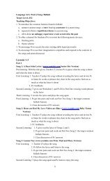 Lesson Plan: Language Arts: Poetry/Song: Ballads