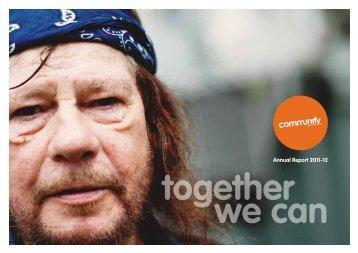 Annual Report 2012 - Communify