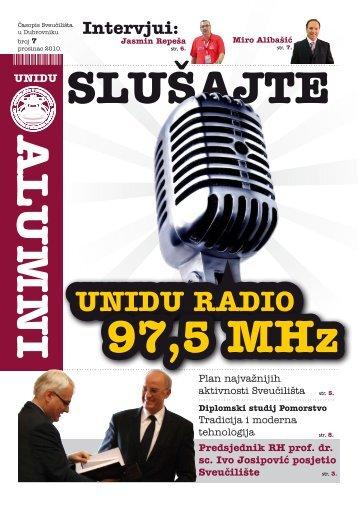 Alumni - broj 7 - Sveučilište u Dubrovniku