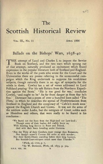 April 1906 Part 1 - Electric Scotland