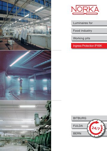 Luminaires for the food processing industry - Frizen AS