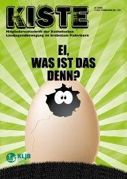 Mitgliederzeitschrift der Katholischen ... - KLJB Paderborn