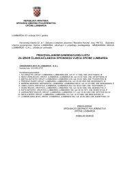 pravovaljanom kandidacijsku listu za izbor članica ... - Korcula.NET