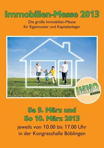 Immobilien-Messe 2013 - Immobilien-Messe Böblingen