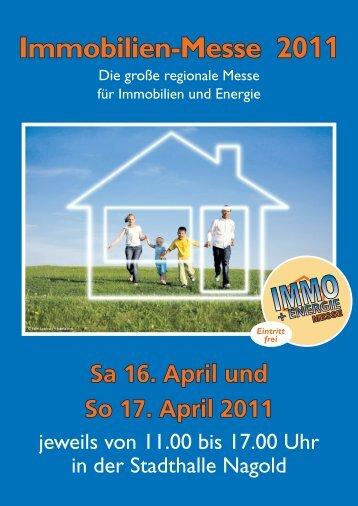 0 74 52 / 84 84 12 oder 0 70 31 / 8 62 - Immo- und Energie-Messe ...