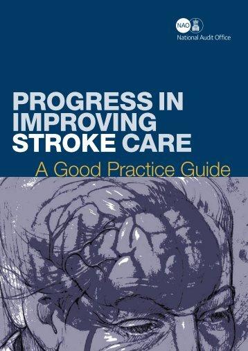 Progress In Improving Stroke Care: A Good Practice Guide (pdf ...