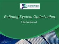 Refining System Optimization - J&L Fiber Services, Inc.